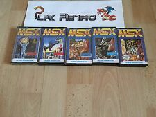 Msx lote load'n' run # 1-5 completo version española