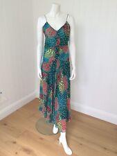 Floaty Silk Esprit Maxi Dress Size 12