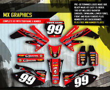 2006 2007 HONDA CRF 250R DIRT BIKE GRAPHICS KIT CRF250R MOTOCROSS RACING DECALS