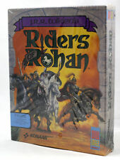 "Vintage Big Box PC Sealed - Konami Tolkien's Riders of Rohan 3.5"" DOS Near MINT"