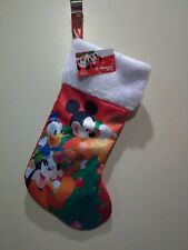 Disney Mickey and Friends Red Stocking
