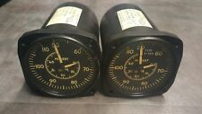 Allison Rolls Royce C18 T63 Gas Turbine Engine N1 N2 Tachometer Indicator Gauge