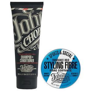 Johnny's Chop Shop Shampoo + Sports & Social Fiber DEAL UK STOCKIST