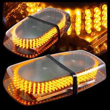 Amber 12V LED Light Bar Roof Emergency Beacons Car Warning Light Flash Strobe