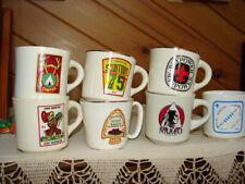 7 Vintage BSA Cups Mugs Hawk Mountain Joe Paterno Philmont NARCO Boypower PHOTOS