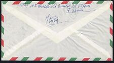 1539 ITALY TO PERU AIR MAIL COVER 1959 VOGHERA - LIMA