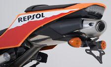 HONDA CBR600RR 2013 ,2014,2015,2016 r&g Carreras Soporte De Matrícula/Soporte