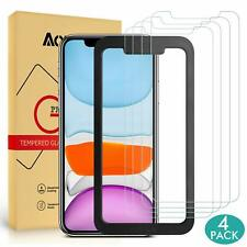 Anti Oil Stains Perfect Feeling 4 Pack Tempered Glass iPhone 11 Screen Protector