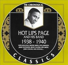 1938-1940 by Hot Lips Page-CLASSICS CD NEW