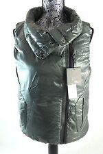 BNWT RLX RALPH LAUREN Grey Down Vest Sz. S Made in Thailand