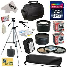 Ultimate Accessories Kit for Panasonic HC-X800 HC-X900 HC-X910 HC-X920 Camcorder