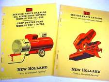 New Holland 720, 721 & 722 Fans & 750, 751 & 752 Dryers & 501, 502 & 503 Manuals