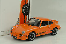 1973  Porsche 911 Carrera RS 2.7 orange 1:18 Welly Porsche Museum