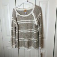 Ruby Rd Gold Striped Sweater Size XL New With Tag