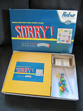 SORRY Retro Series 1958 edition hasbro game 100% complete minty condition!