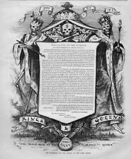 SKELETONS SKULL AND BONES NEW YORK BOARD OF HEALTH PROCLAMATION BY THE GOVERNOR