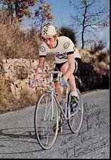GEORGES TALBOURDET PEUGEOT 77 Signed Autographe champion france Signé cyclisme