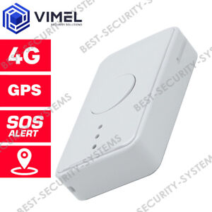 4G Real Time GPS Tracker Kids Personal Gadget Elderly Security SOS Geo-Fence