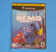 NEW Sealed Disney Pixar FINDING NEMO Video Game NINTENDO GAMECUBE 2001