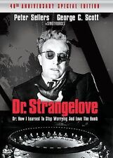 Dr. Strangelove or: How I Learned to Stop Worrying and Love the Bomb (DVD, 2004,