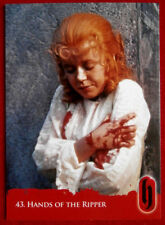 HAMMER HORROR - Series Two - HANDS OF THE RIPPER - Card #43 - Strictly Ink 2010