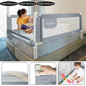 Bettschutzgitter 150/180/200 cm Babybettgitter Bettgitter zum vertikalen Heben*