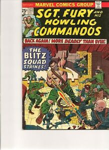 Sgt Fury and his Howling Commandos # 122 - Bronze Age !
