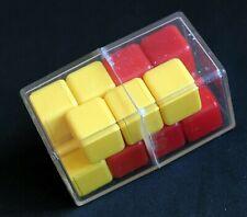 Vintage unusual minus cube puzzle brain teaser 3d pyatnashki 15 logik game USSR