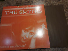 The Smiths Louder Than Bombs  LP Record USA Pressing Sire Morrissey 2 LP Set