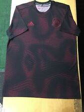 adidas mexico training jersey Prematch Top Parley Limited Eddition Black SizeXXL