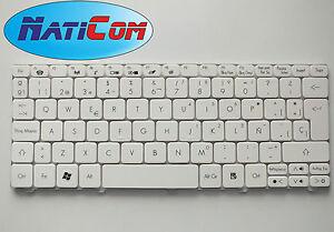 New Keyboard nuevo teclado Packard Bell DOT S SE SPT LT27 KB.I100G.108 Spanish