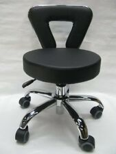 Adjustable Height SPA Chair Pedicure Stool for Nail Hair Facial Artists 15 3/4""