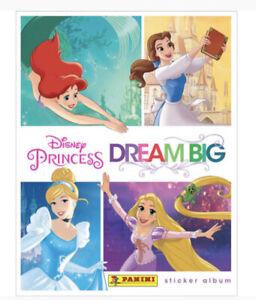 Panini Disney Princess sticker /& cards este álbum 2 X Display princesas