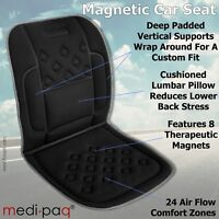 Car Seat Back Support Cushion Lower Lumbar Travel Pain Relief Orthopaedic UK