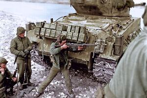 Korean War American Soldiers  War Color WW2 War Photo 4x6 inch H