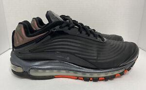 Nike Air Max Deluxe SE Black/ Crimson Running Shoes AO8284-001 Men's Size 9