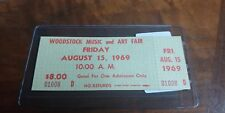Unused Woodstock Ticket mint cond.
