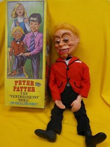 1960/1970 Ventriloquist Doll Peter Patter - Eepee Toys (Mr Parlanchin - Cremeal_