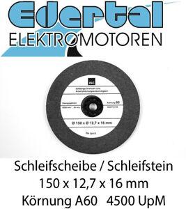 Schleifscheibe Stein für Doppelschleifer Schleifbock 150x12,7x16 A60 35m/s Fein
