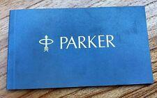 Original Parker Premier Pens Booklet (# x5617)