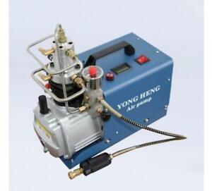 110v YONG HENG 300BAR/30MPa/4500psi PCP Compressor scuba Auto Shut off