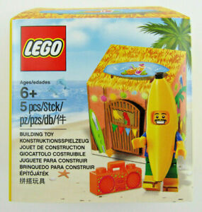 NIB LEGO Banana Hut PARTY GUY Minifigure ~ Exclusive PROMO ~ 5005250 Sealed