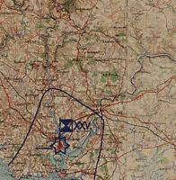 Heereskarten Frankreich von Juni 1944 - August 1944