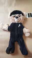 New with tag Unstuffed retired Build a Bear Star Trek Spock bear