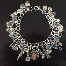 Jane Austen Charm Bracelet, Regency, Author, Writer, Pride And Prejudice