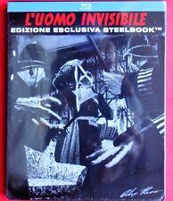 blu ray steelbook l'uomo invisibile the invisible man metalbox alex ross horror