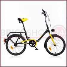 Bicicletta pieghevole con Ruote da 20 doppio freno Dino Bikes Nero