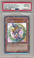PSA 10 Yugioh Duel Terminal Super Rare Dark Magician Girl DT06-EN064 GEM MINT! A