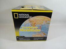 National Geographic Illuminated World Globe Classic 25cm - Light-Up Map Stand
