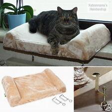 Sitzbrett f. Fensterbank Liegeplatte Liegekissen Katzenbett Fensterliege KE82656